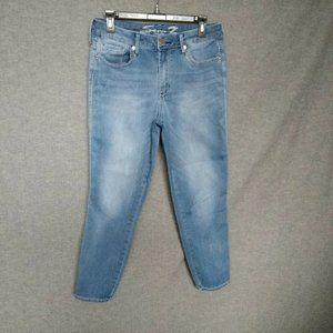 Seven7 Skinny Leg Cropped Jeans